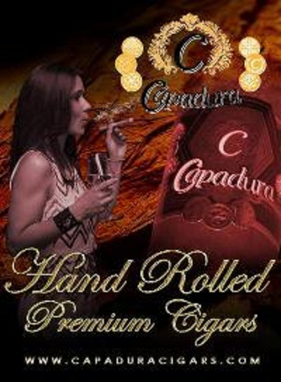 "Football Sunday with Capadura Cigars at the ""Den"" 
