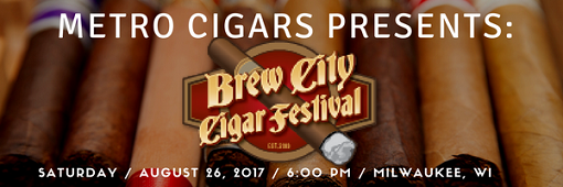 MetroBrewBCCF 2017 email header for Metro Cigars